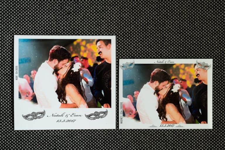 מגנטים פולארויד לחתונה