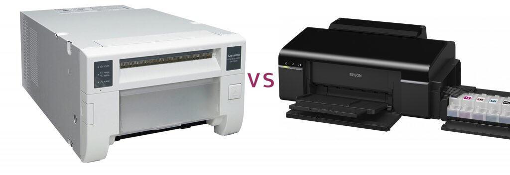 הדפסה במדפסת דיו לעומת מדפסת תרמית