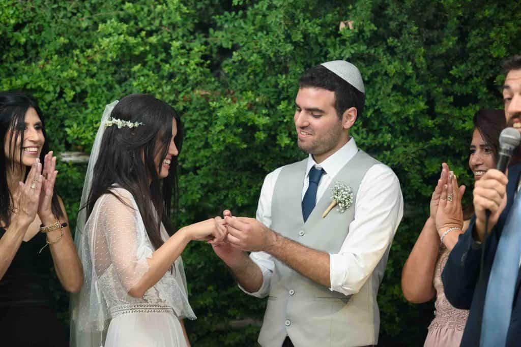 מגנטים לחתונה - צילום החופה