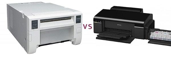 מדפסת דיו לעומת מדפסת תרמית